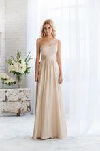 2015 nieuwe champagne bruidsmeisje gown dress custom made een schouder bruidsmeisje trouwjurken partij (bd-051)(China (Mainland))