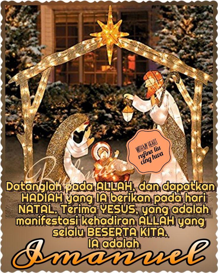 """✿*´¨)*With My Heart ⭐🌲🌲⭐ ¸.•*¸.• ✿´¨).• ✿¨) (¸.•´*(¸.•´*(.✿ GOOD EVENING...GBU ~  Matius 1:23 """"Sesungguhnya, anak dara itu akan mengandung dan melahirkan seorang anak laki-laki, dan mereka akan menamakan Dia Imanuel"""" — yang berarti: Allah menyertai kita."""