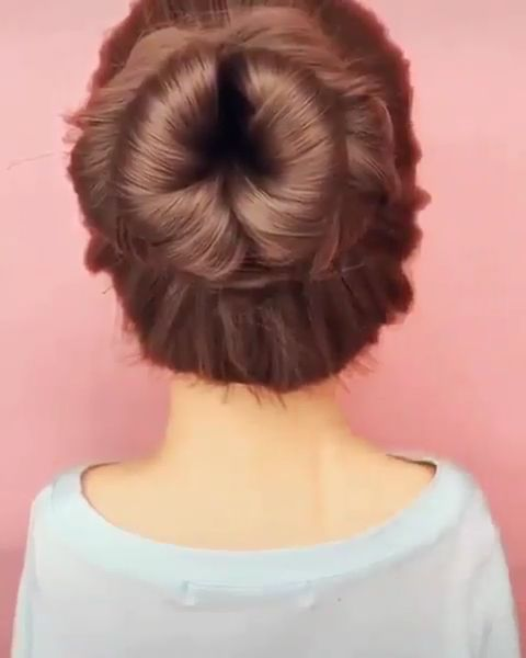 Easy Charming Spring Bridal Updo Hairstyle Tutorials @your.hair.beauty via Instagram -  15 Seconds To Get Pretty and Easy Bridal Updos for Long Hair. Are You Ready To Try?View the link be - #ayour #beauty #bridal #charming #easy #hairscolorideas #hairstyle #hairstylesformediumlengthhair #hairstylestutorials #instagram #spring #tutorials #updo #yourhairbeauty