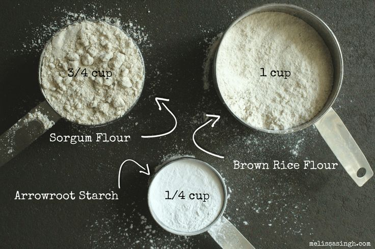 Simple 3-Ingredient DIY Gluten Free All-Purpose Flour Blend