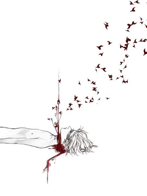 Algún día podrás dejar salir todos los demonios que llevas dentro,y al fin descansar...