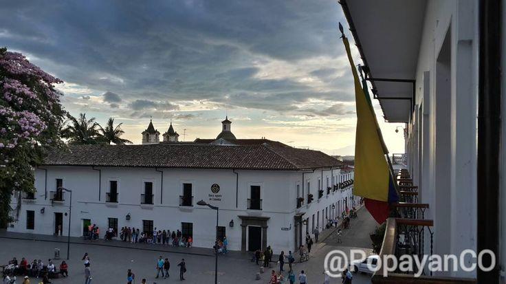#Clima #PopayánCO min: 13ºC max: 27ºC Mañana: Cielo Parcialmente Despejado  Tarde: Lluvias en Diferentes Sectores  Noche: Lluvias Ligeras