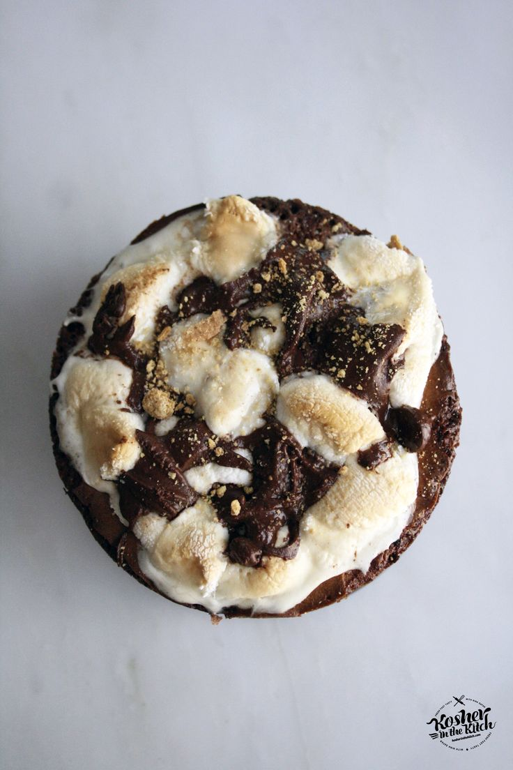 Brownie Cheesecake S'mores