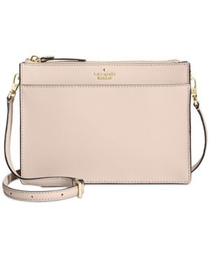 Kate Spade New York Cameron Street Clarise Crossbody Tan Beige Chanelhandbags