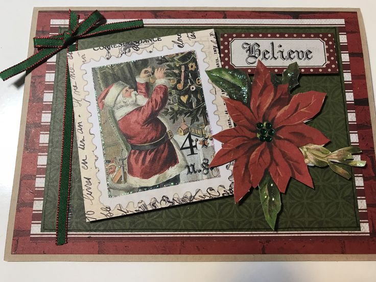 Kaisercraft Paper using the Letters to Santa Collection