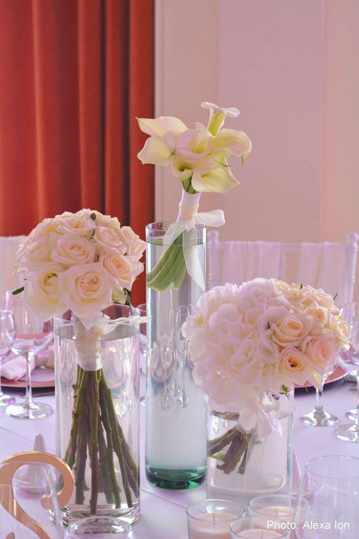Flowers Garden Weddings: Aranjament floral de masa