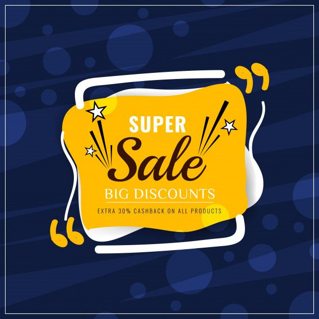 Download Abstract Colorful Super Sale Modern Background For Free