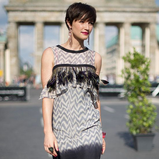 Berlin Fashion Week Brings Out Bold Street Style We kickstarted your Summer street style, but now we're keeping the fashionable sidewalk moments coming straight from Germany. A handful of street stylers have been getting snapped before heading to the Berlin Fashion Week shows, so for your viewing pleasure, we've highlighted our favorites. From feathers to stripes to leather, head inside to see get inspired by the city's most daring street styles.