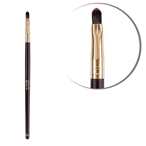 Vegan professioneller luxuri�ser Lippen Pinsel - B12 High Quality langlebige synthetische Fasern Lip Make up Brush - Perfekt zum einfachen Auftragen von Lippenstift, Lip Gloss und Lip Balm