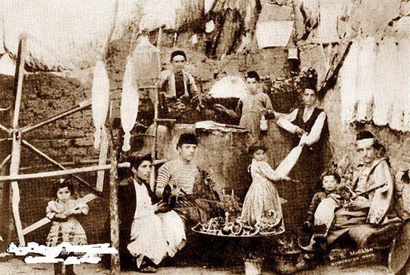 Elazığ, Harpoot Silk and silk painting production, circa 1900
