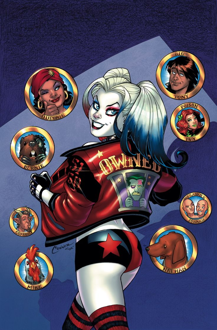 HARLEY QUINN #26 Written by AMANDA CONNER and JIMMY ...