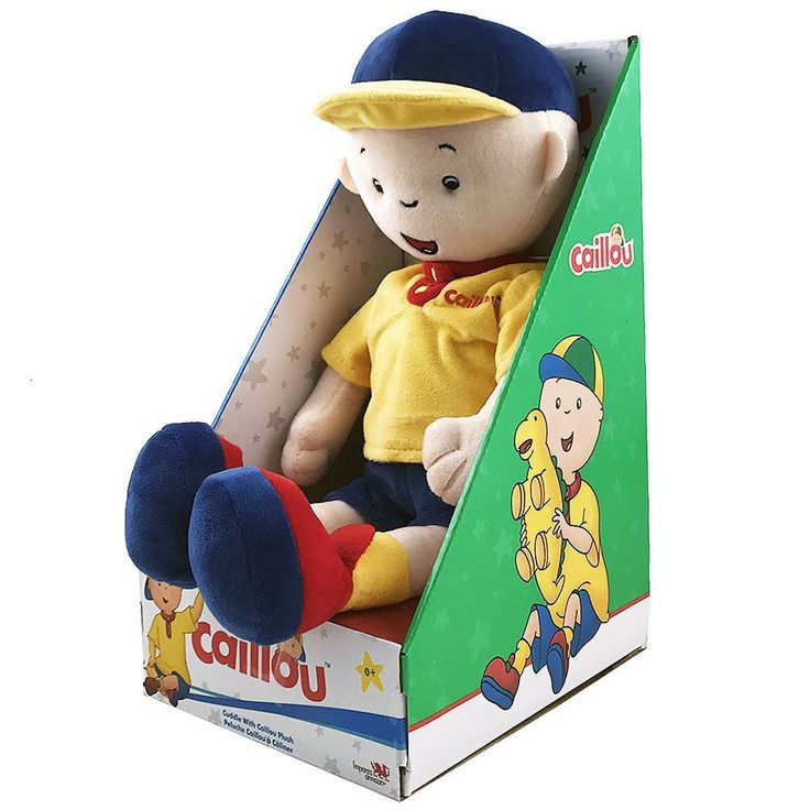 Caillou Doll - Cuddle with Caillou Plush