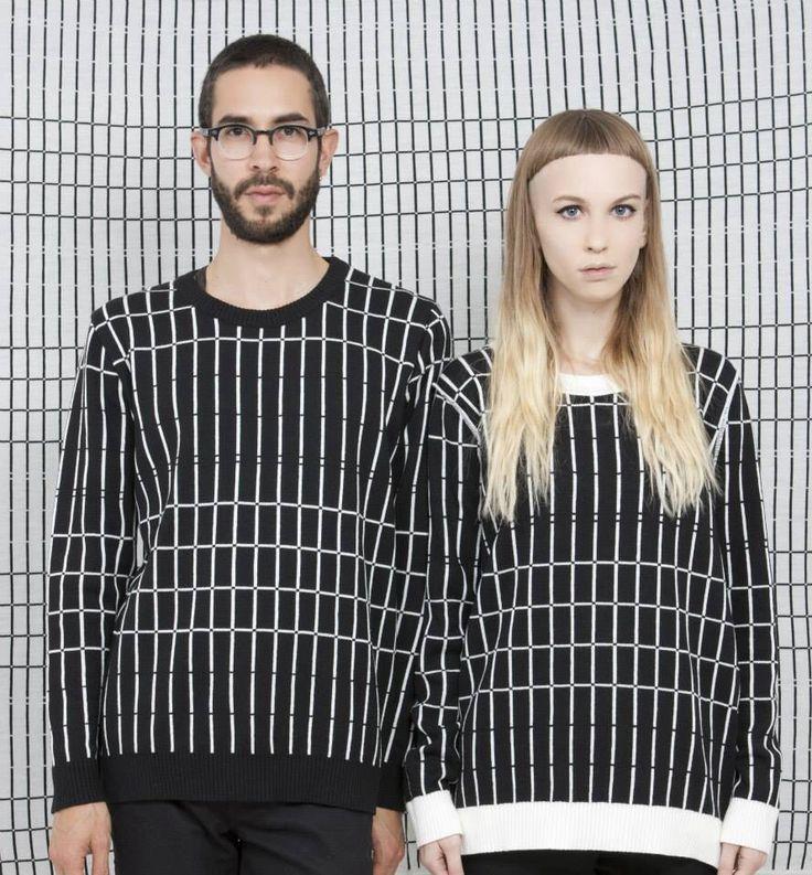 Cross lines (sweater)