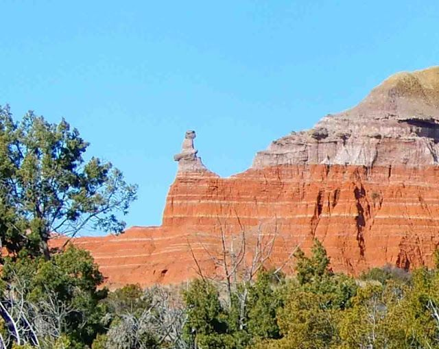 """""""The Lighthouse"""" at Palo Duro Canyon State Park, Canyon, Texas"""