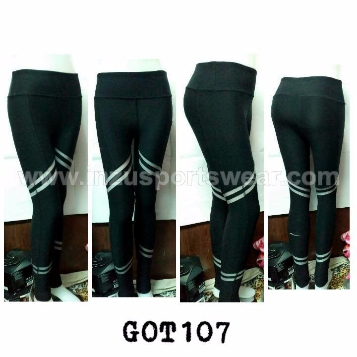 GOT107 Gottex Silver Panel Legging