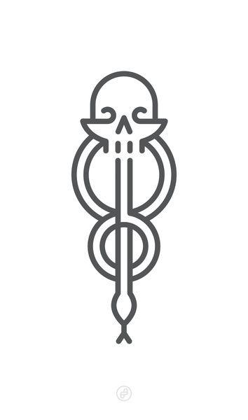 Marca tenebrosa - Póster