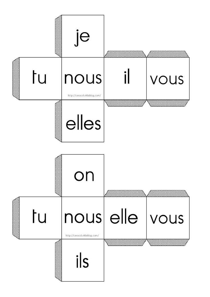 les pronoms sujets en francais - Google Search
