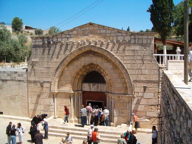 Holy Land - Tomb Of The Virgin Mary │Church Of The Sepulchre Of Saint Mary