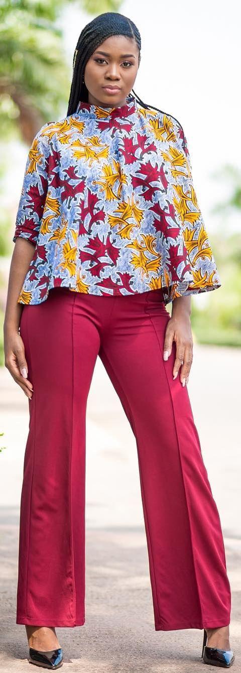 Ankara tops, African fashion, Ankara, kitenge, African women dresses, African prints, African men's fashion, Nigerian style, Ghanaian fashion, ntoma, kente styles, African fashion dresses, aso ebi styles, gele, duku, khanga, vêtements africains pour les femmes, krobo beads, xhosa fashion, agbada, west african kaftan, African wear, fashion dresses, asoebi style, african wear for men, mtindo, robes de mode africaine. #Africanfashion