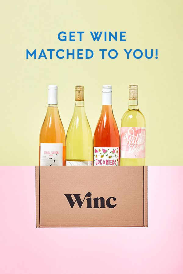 Tap, match, sip. It's that simple with Winc. Wine, expertly picked for your palate. Take the quiz & get wine recommendations perfectly tailored to you!