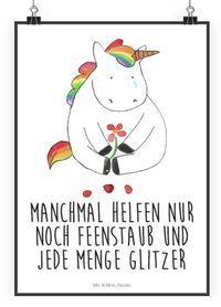 Und hänge das beste Poster für Einhorn-Fans an deine Zimmer-Wand: –  – #hintergrundbilder