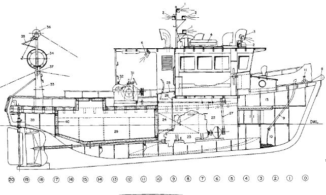 boat plans for a 24 u2032 trailerable commercial fishing gravy
