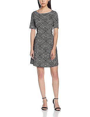 12, Beige (Stone), Wallis Petite Women's Geo Jacquard Casual Dresses NEW