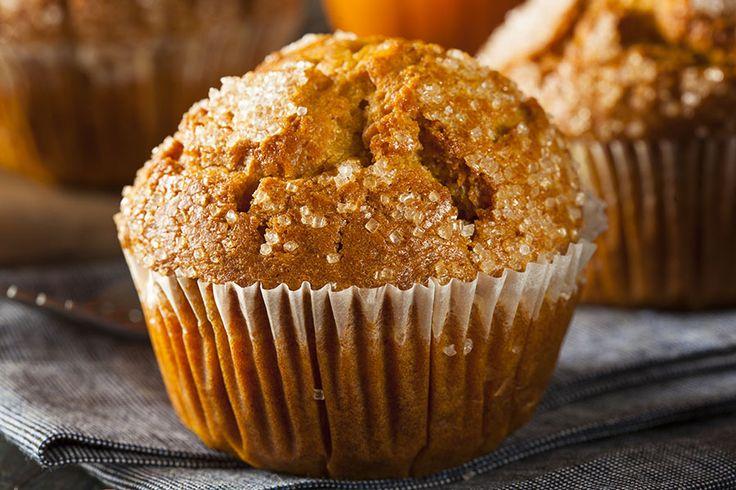 """L'ajout de la cardamome fait toute la différence dans ces muffins délicieux et """"santé""""."""
