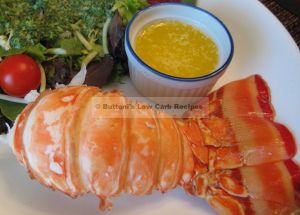 Steamed Lobster Tails