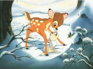 Cartoon Characters and Animated Movies: Bambi