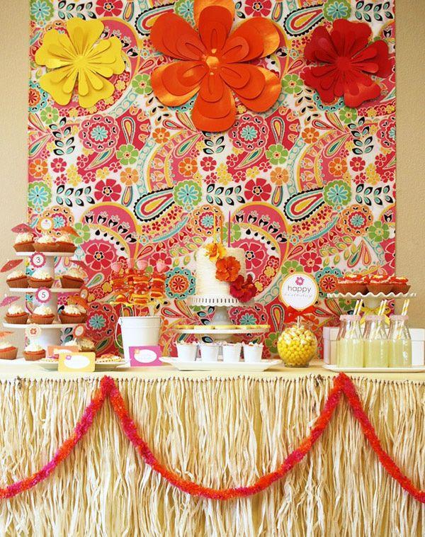 Adorable!Aloha Parties, Luau Parties, Birthday Parties, Summer Parties, Hawaiian Parties, Parties Ideas, Summer Birthday, Hawaiian Theme, Desserts Tables