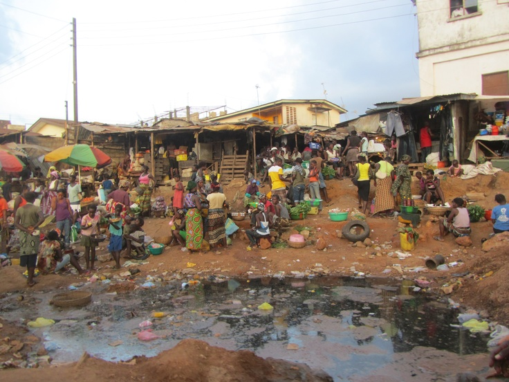 YMCA of Sierra Leone market place