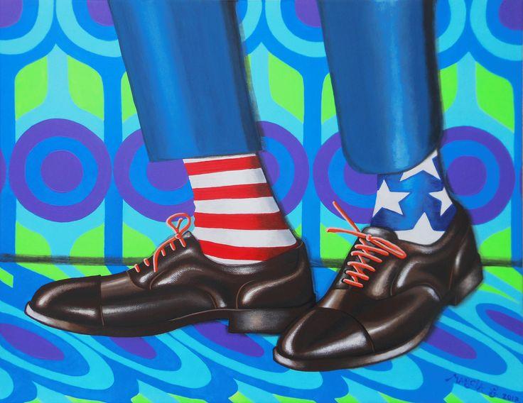 Freedom!   acrylic on canvas  cm 50x40  2017