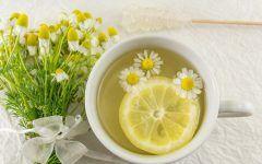 Chá Detox de Camomila  Para Tratar Azia e Refluxo