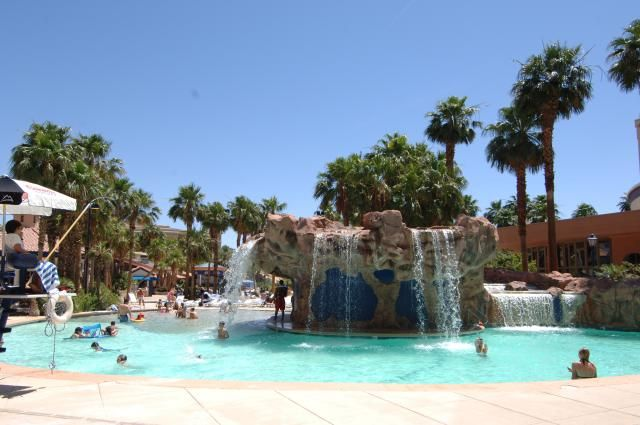 The Best Pools in Las Vegas: The Swimming Pool at the Rio All Suite Hotel Las Vegas