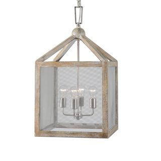 Shop for Nashua 4-light Wooden Lantern Pendant. Get free shipping at Overstock.com - Your Online Home Decor Outlet Store!…