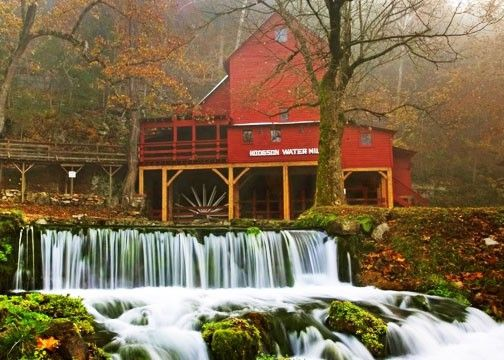 Hodgson Water Mill, Ozark Country, Missouri.