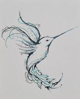Hummingbird Drawings Tattoos | hummingbird | drawings/tattoos