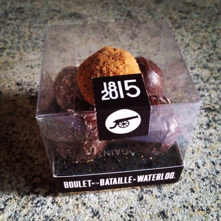 Boulet de la bataille de #Waterloo #chocolate