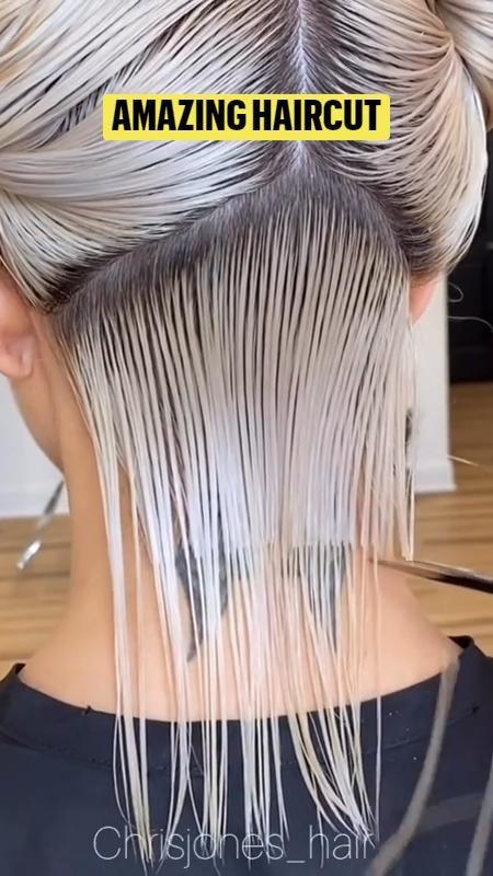 Haircuts For Medium Hair, Short Hair Cuts, Medium Hair Styles, Short Hair Styles, Love Hair, Great Hair, Gorgeous Hair, Hair Cutting Techniques, Hair Videos
