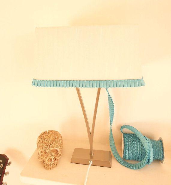 Pleated ribbon trim 2 cm Lamp ruffle trim by BrightonBabe