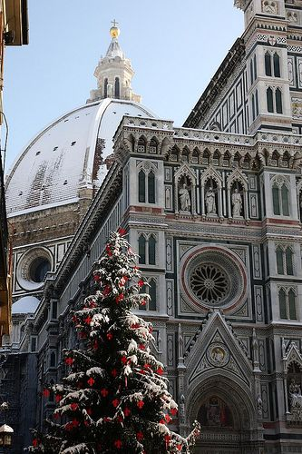 Winter in Florence, Italy