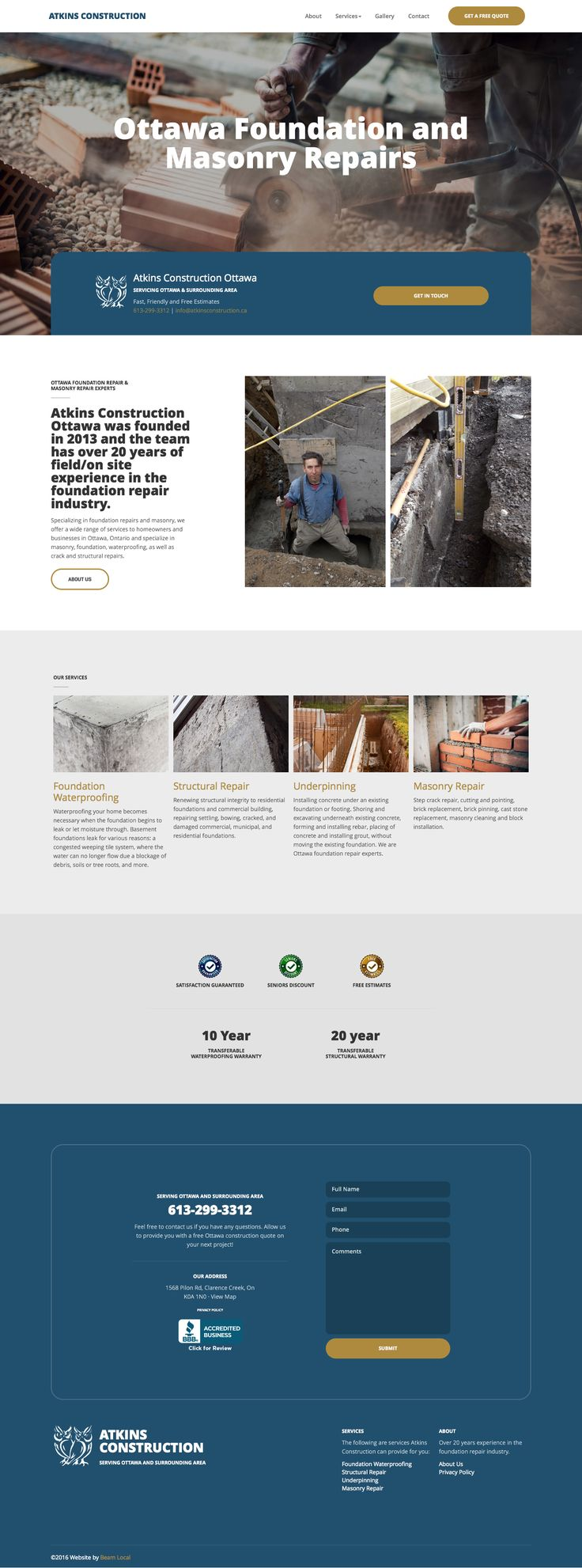 Looking for top trends in contractor website designs? Want to know what makes a good construction web design stand out? Check out our definitive list.