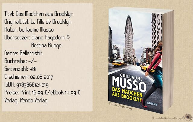 """Mit """"Das Mädchen aus Brooklyn"""" von Guillaume Musso hatte ich stark zu kämpfen und quälte mich durch die Seiten, voller wirren Handlungen und nervigen Protagonisten. Ein Musso, der mich abschreckte, anstatt zu verzaubern. ~ langatmig ~ unrealistisch und verwirrend ~ eine Story ohne Wiedererkennungswert."""