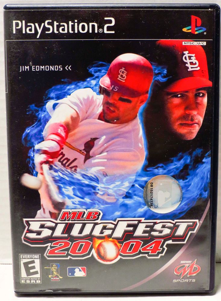 MLB SlugFest 20-04 Sony PlayStation 2 PS2 2003 Video Game Baseball Complete