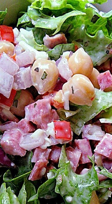 Pagliacci's Italian Chop Chop Salad ❊