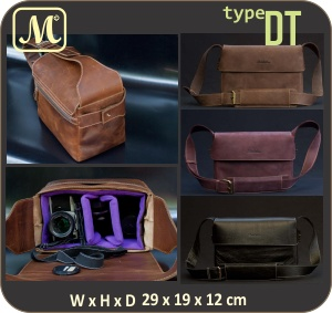 Leather Box Bag by MADA1432