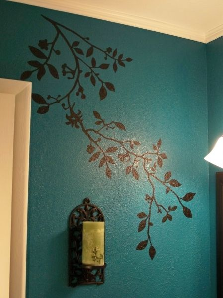Wall painting natural look asian paints royale play Bathroom wall paint designs