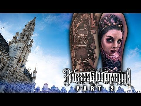 Brussels Tattoo Convention Coverage pt. 3 of 3 - YouTube #sullenclothing #jpwikman #jpwikmantattoo