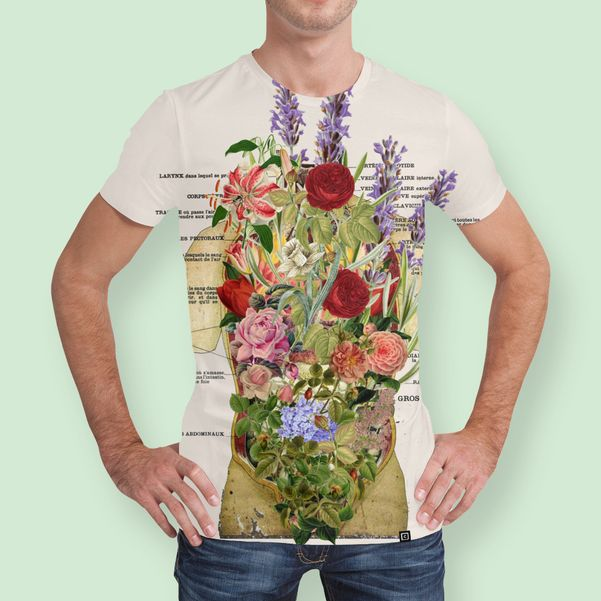Discover «Growth! Spring», Numbered Edition Men's All Over T-Shirt by gasponce - From 37€ - Curioos